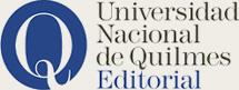 Logo Editorial de la Universidad Nacional de Quilmes