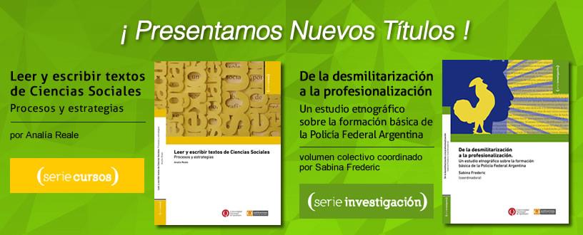 Presentación de nuevos títulos – Unidad de Publicaciones para la Comunicación Social de la Ciencia