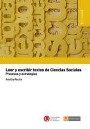 Leer y escribir textos de Ciencias Sociales. Procesos y estrategias